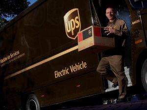 UPS, hedefine erken ulaştı