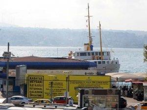 Kabataş İskelesi 2 yıl süreyle deniz trafiğine kapatıldı