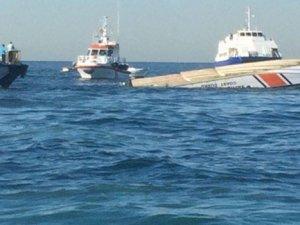 Sahil Güvenlik botu alabora oldu