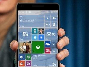 Windows 10 mobile güncellemesi çıktı