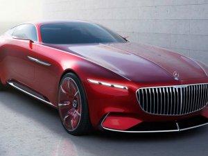Mercedes-Maybach'ın lüks coupe konsepti gün yüzüne çıktı