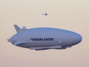 Airlander ilk uçuşunu yaptı