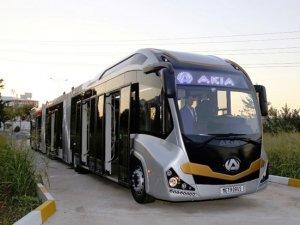 İlk yerli metrobüs Bursa'da üretildi