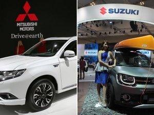 """Mitsubishi ve Suzuki'de """"yakıt hilesi"""""""