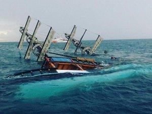 Antalya açıklarında batan tur teknesinin kaptanı tutuklandı