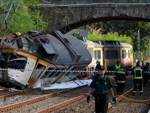 İspanya'da tren kazası: 4 ölü 47 yaralı