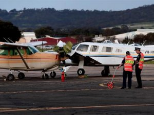 Cessna ve Piper apronda kafa kafaya çarpıştı; 1 pilot öldü