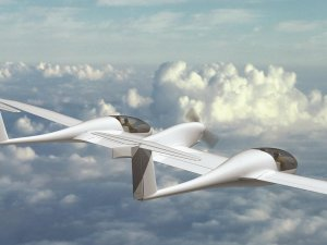 Çevreci uçak ilk uçuşunu yaptı