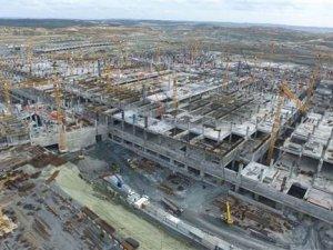 Üçüncü Havalimanı inşaatında çalışan sayısı 20 bine çıktı