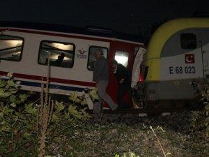 Sakarya'da tren kazası: 3 yaralı