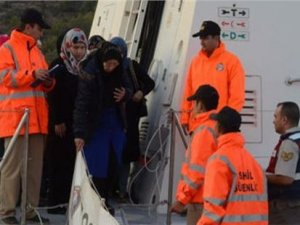 Sahil Güvenlik ekipleri Mersin'de 101 kaçak yakaladı