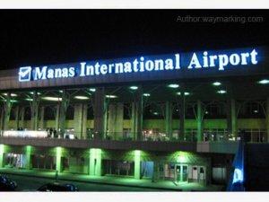 Bişkek Manas Havalimanı'nda bomba paniği
