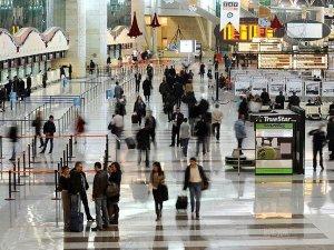 Havayolu yolcu sayısı 150 milyona yaklaştı