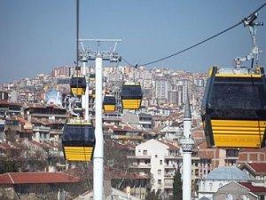 Ankara Yenimahalle-Şentepe Teleferik Hattı 2 gün bakıma alındı