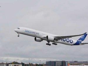 Airbus A350-1000 ilk uçuşunu yaptı