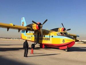 THK, İsrail'deki yangına 3 uçakla müdahale ediyor