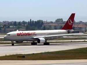 Atlasjet'in İran uçuşları dün başladı